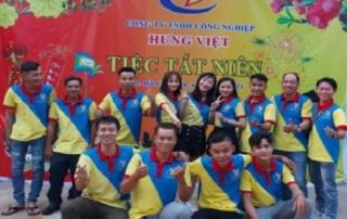 Đội ngũ nhân viên xe nâng Hưng Việt