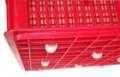 sóng nhựa đan lưới có bánh xe