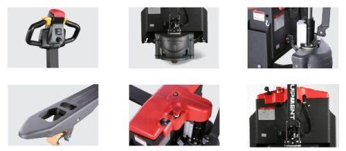 Cấu tạo xe nâng tay điện kéo tay 1.5 tấn EP Equipment