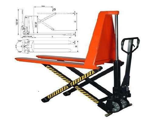 Xe nâng tay chữ X 1.5 tấn trục cắt kéo