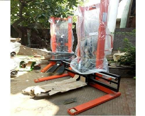 Xe nâng tay cao chân khuỳnh 2 tấn dùng cho mọi pallet