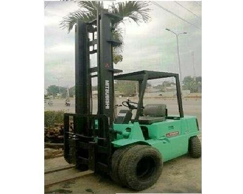 Xe nâng dầu cao 5m 2500kg