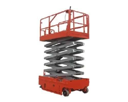 Thang nâng tự hành dạng cắt kéo, xe nâng người 6m, 8m, 10m, 12m