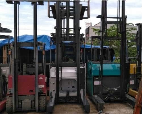 Xe nâng điện 6m tải 2 tấn hiệu TCM Nhật