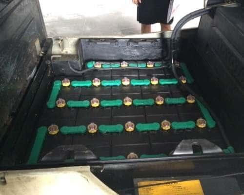 Ắc quy xe nâng 48V/ 565Ah dùng cho xe điện đứng lái