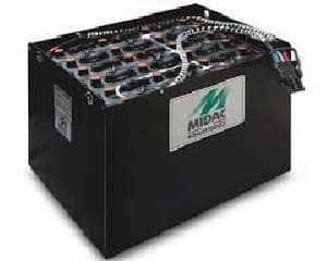Ắc quy xe nâng 48V/280Ah Midac dùng cho xe điện đứng lái