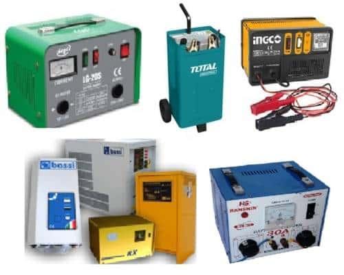 Bộ sạc ắc quy, máy nạp điện 12V, 24V, 36V, 48V, 72V