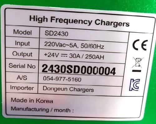 Thông số kỹ thuật sạc ắc quy 24v mini nhỏ gọn