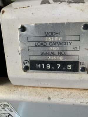 Tem nhãn xe nâng điện 900kg toyota