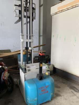 xe nâng điện 900kg toyota - dùng cho mọi pallet