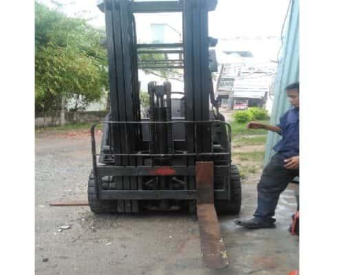 Xe Nâng Điện 6m Tải 2.5 Tấn Hiệu Nissan