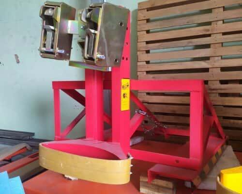 Kep gắp phuy 500kg - 2 mỏ kẹp cho phi nhựa và sắt