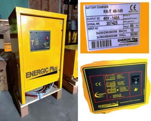 Sạc Xe Nâng 48V-140A Hiệu Energic Plus