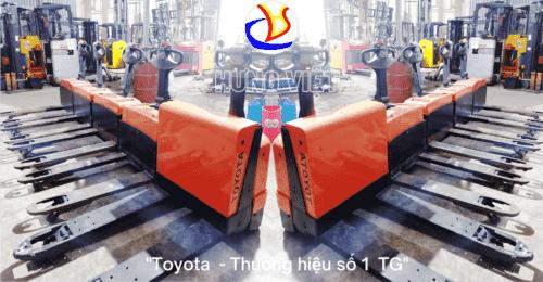 Xe Nâng Tay Điện Nhật Cũ 2020 Tại Hưng Việt