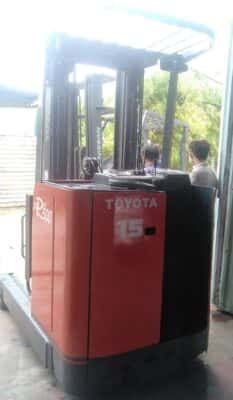 Xe Nâng Toyota 5m Đứng Lái