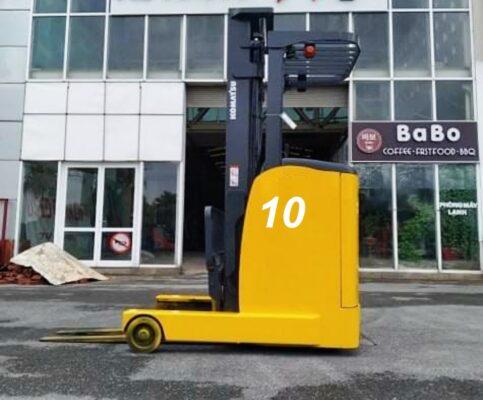Xe nâng điện cao 3m tải 1 tấn komatsu