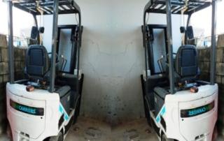 Xe nâng điện cũ giá rẻ 1.5 tấn Unicarriers - Đời 2018