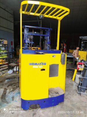 Xe nâng điện Komatsu 1 tấn đứng lái