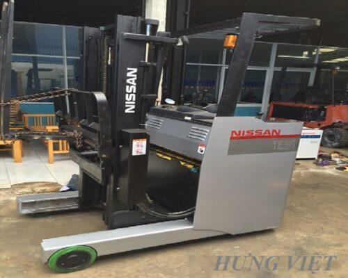 Xe nâng điện reach truck 4m Nissan
