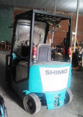 Xe nâng điện Shinko 3m nhật cũ