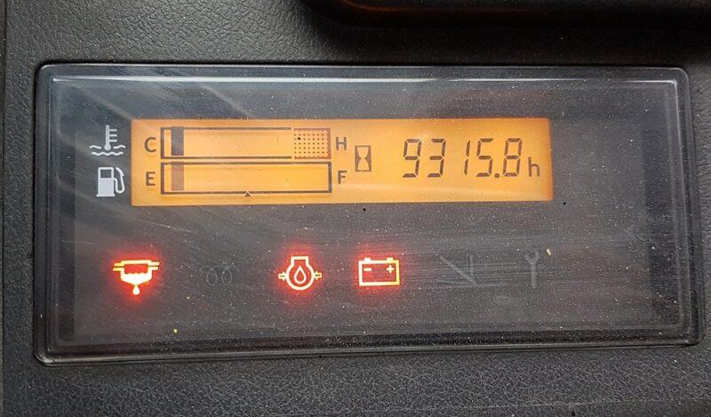 Màn hình báo lỗi xe nâng điện